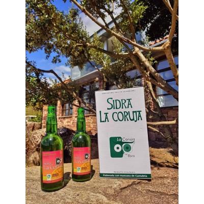 Kit Sidra BIO La Coruja - 2 Botellas + Vaso